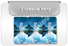 3-up key card